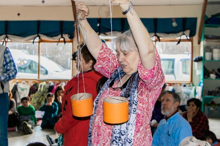 En Ushuaia Ninos Y Antiguos Pobladores Reviven Los Juegos Del Ayer